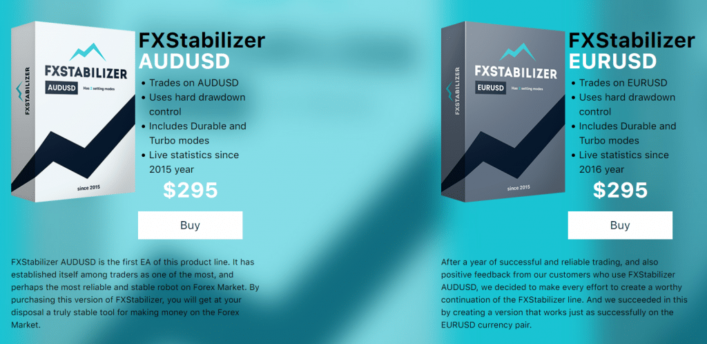 fxstabilizer pricing