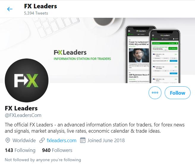 FXLeaders Social network profiles