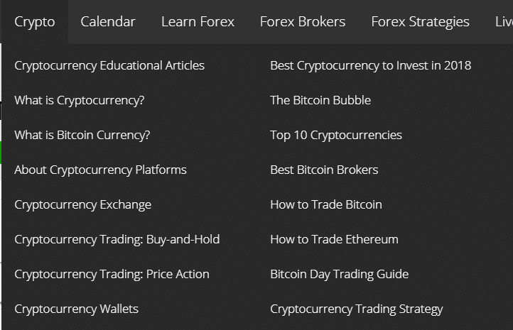 FXLeaders Crypto-related topics