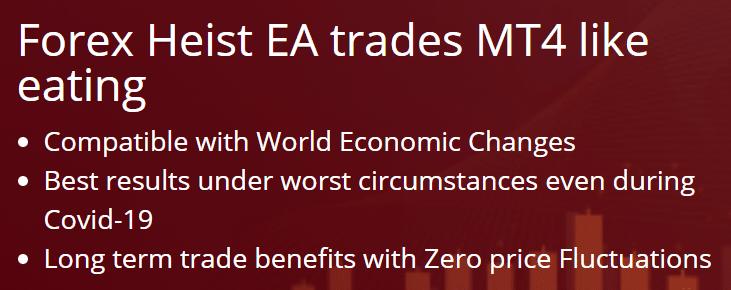 Forex Heist EA presentation