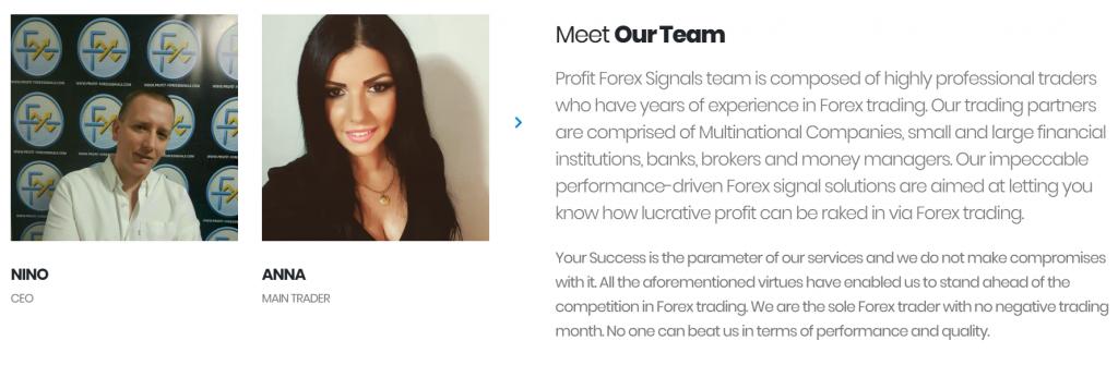 Profit Forex Signals team