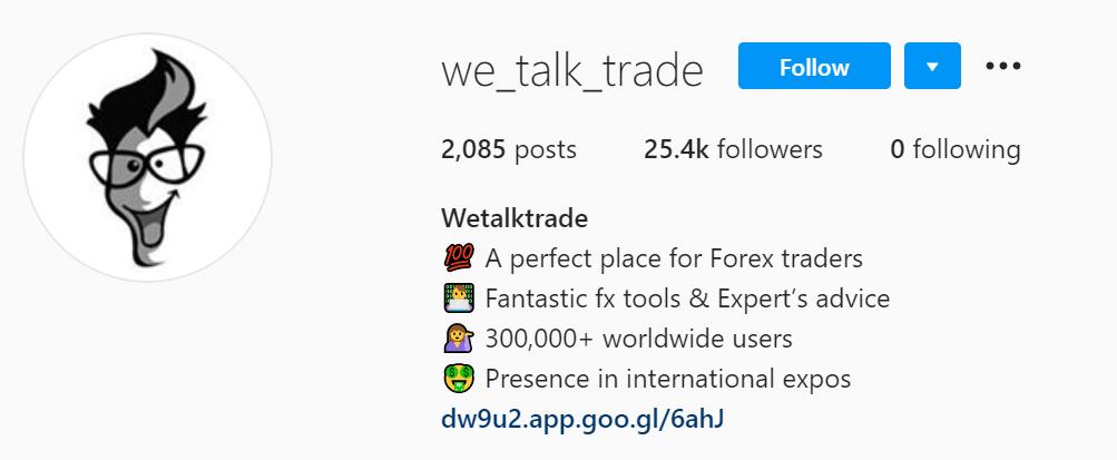 WeTalkTrade Instagram