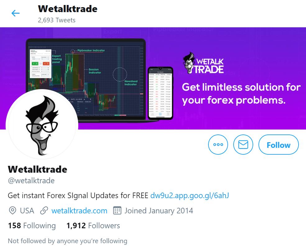 WeTalkTrade Social Networks