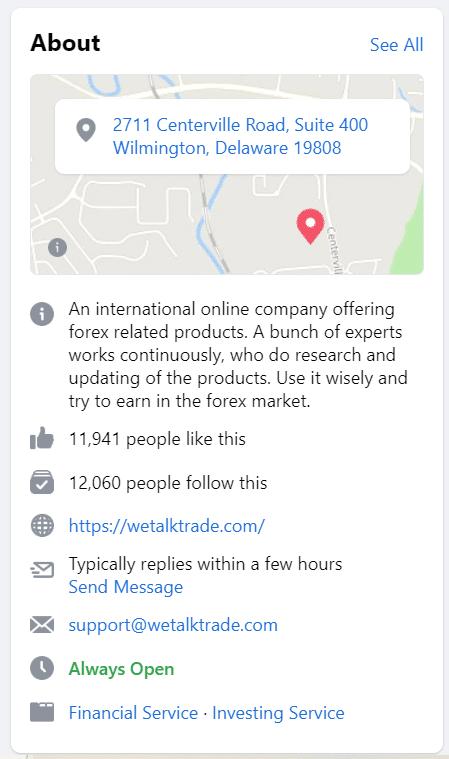 WeTalkTrade location