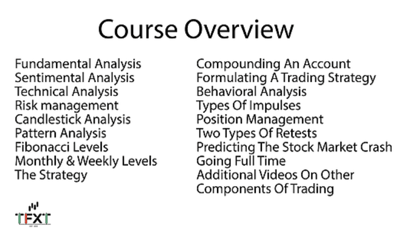ThatFXTrader The courses
