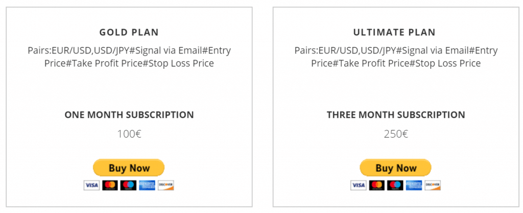 Ultimate Forex Signals Pricing