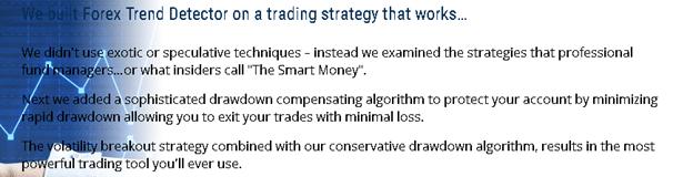 Forex Trend Detector Applied Strategies