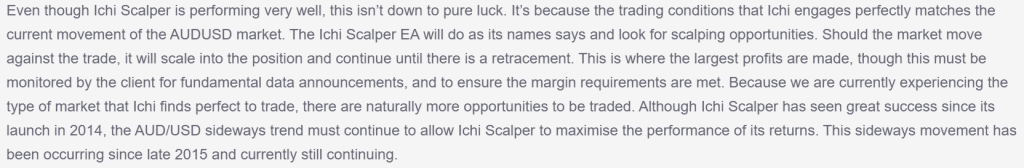 ICHI SCALPER Applied Strategies