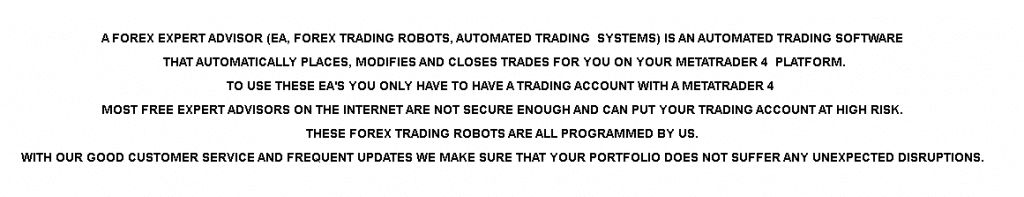 PREMIUM FX BOT Applied Strategies