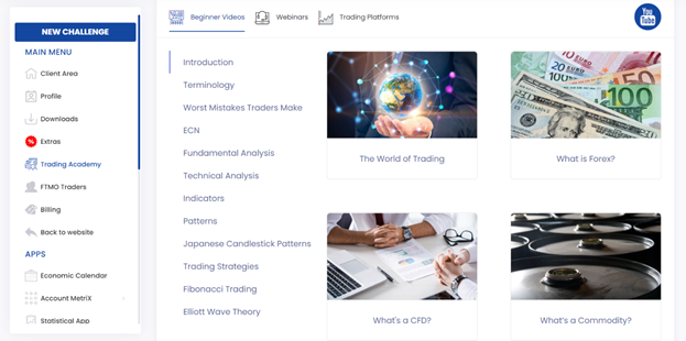 The videos under the trading academy consist of basic trading terminologies every trader must know.