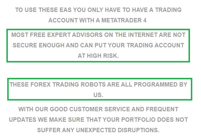 FX Classic Trader characteristics