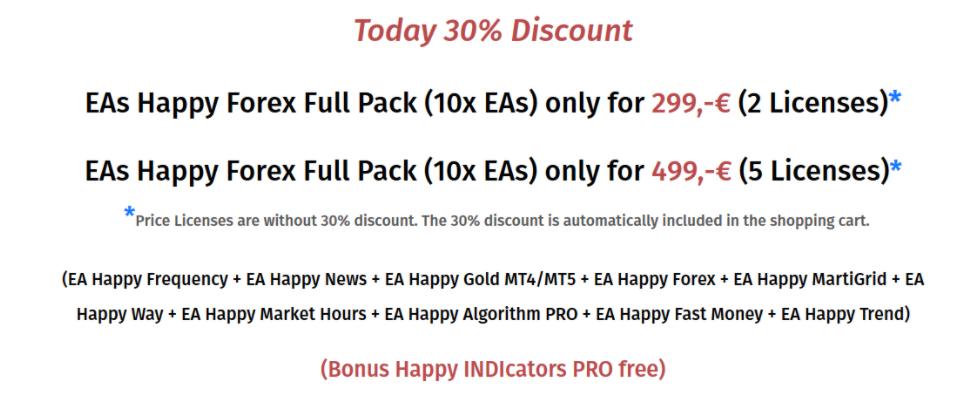 Happy MartiGrid discounts