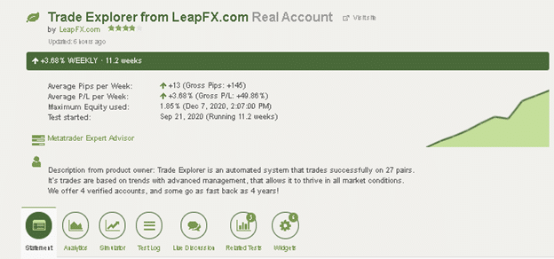 Trade Explorer Customer Reviews