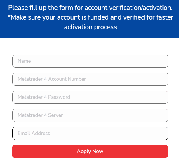 Elite Forex Scalper account verification
