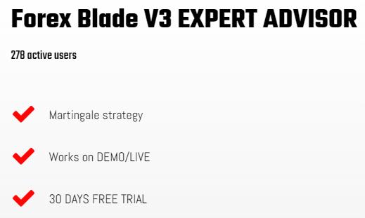 Forex Blade LLC Characteristics