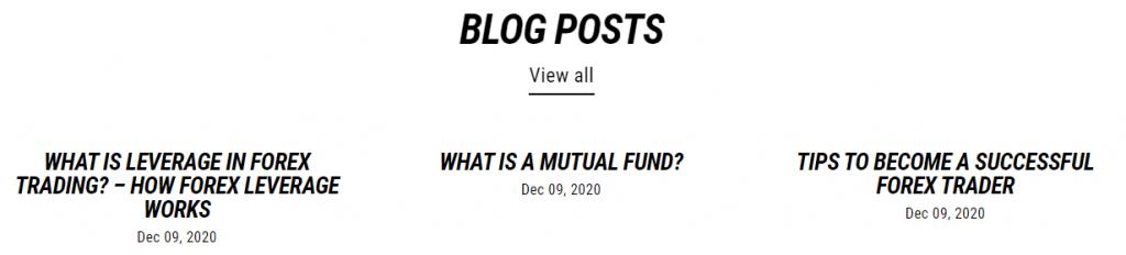 Forex Blade LLC blog posts