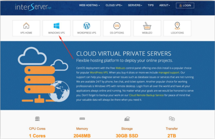 Forex Ninja. The developer promotes an InterServer VPS service