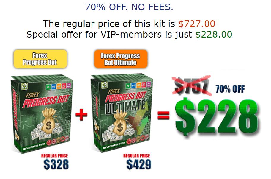 Forex Progress Bot Pricing