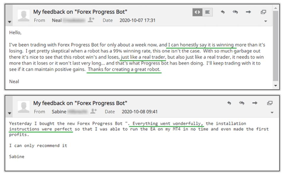 Forex Progress Bot People feedback