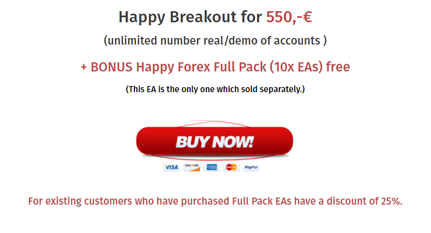 Happy Breakout Pricing & Refund
