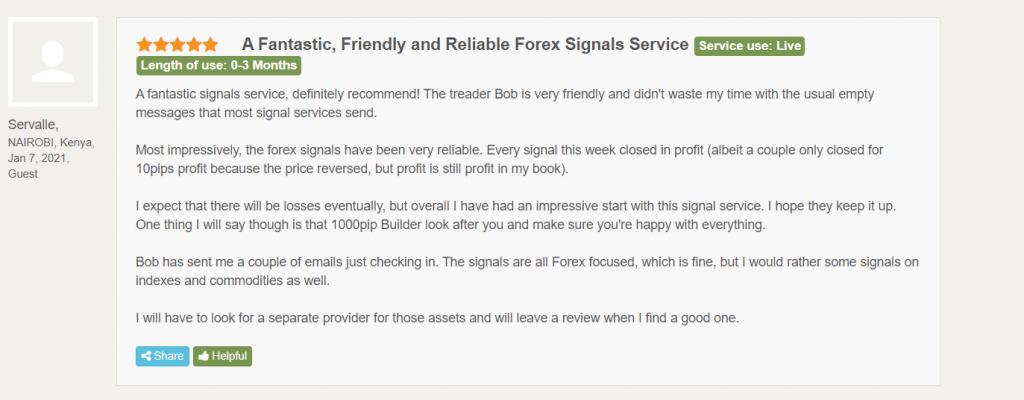 1000pip Builder Customer Reviews