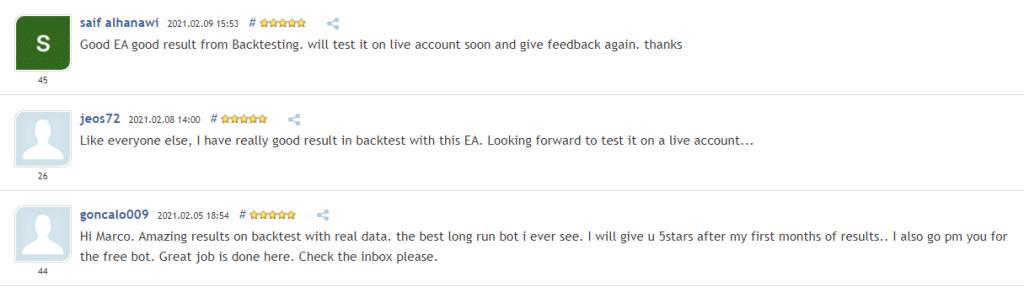 Blueshift People feedback