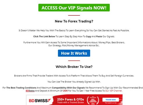V12 Trading Signal Provider Works