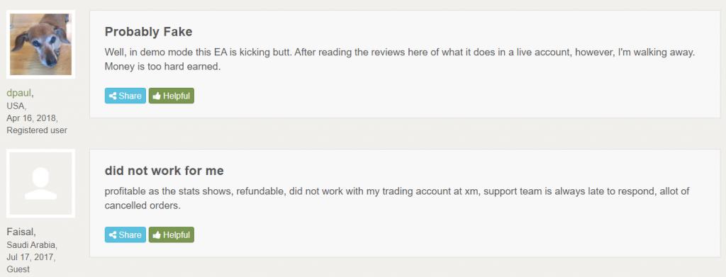 Aeron Scalper plus Grid People feedback