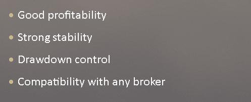 ForexBot28 EA Characteristics