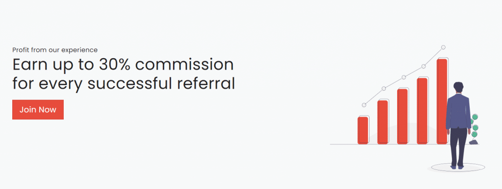 R0B0.1. There's a 30% affiliate program.
