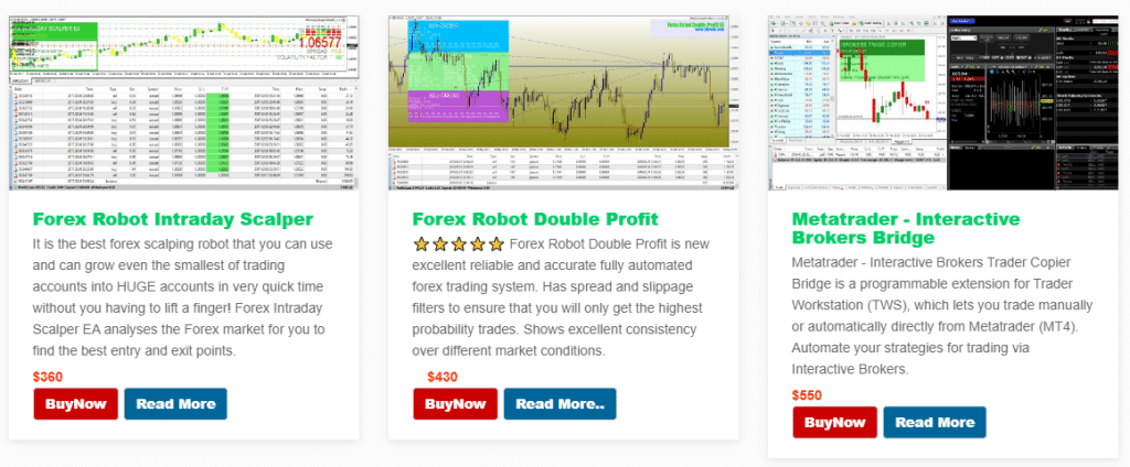 Altredo Forex Robots. The company has several prices.