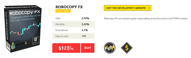 ROBOCOPY FX price