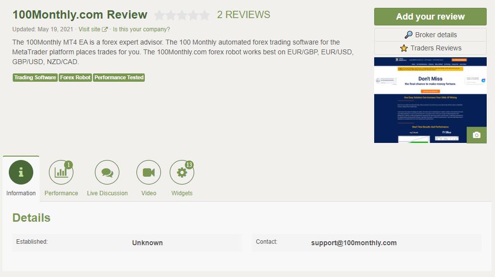 100% Monthly EA People feedback