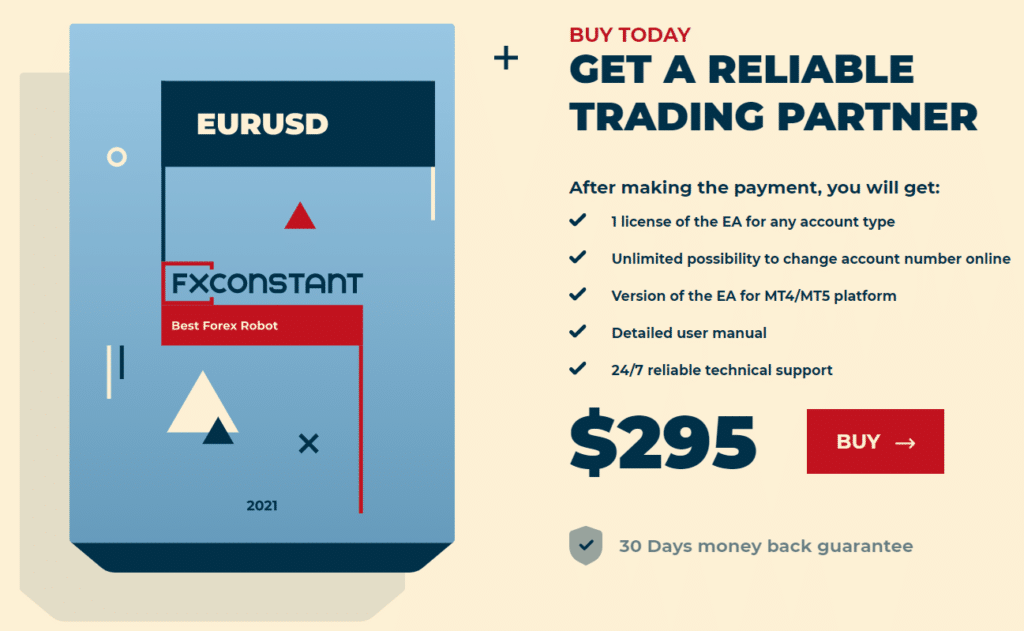 FXConstant Pricing