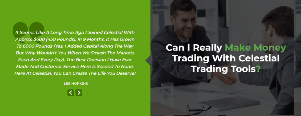 can i really make money trading with celestial trading tools