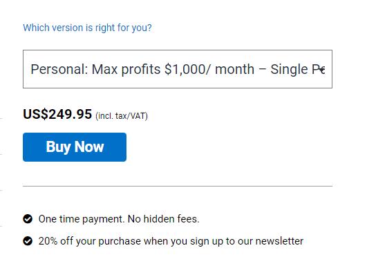 Galileo FX price