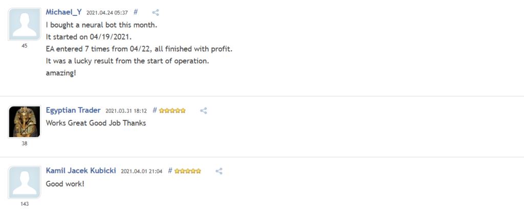 Neural BOT Customer Reviews
