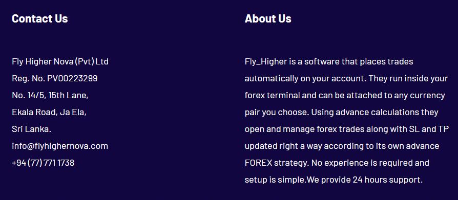 Fly Higher Nova - about us