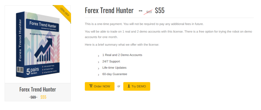 Forex Trend Hunter Pricing