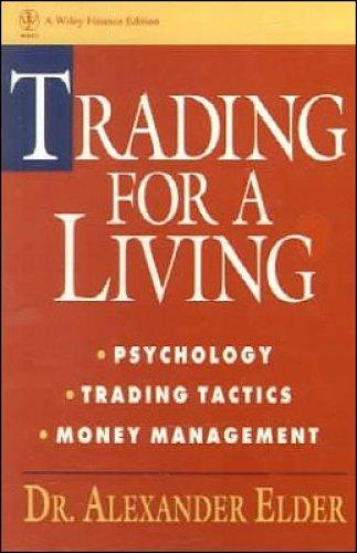 Book cover of 'Trading for a Living'